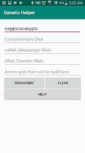 Genetic Helper Screenshot