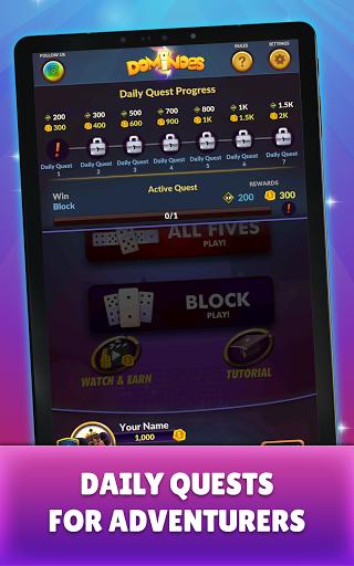 Dominoes - Offline Free Dominos Game apktram screenshots 18