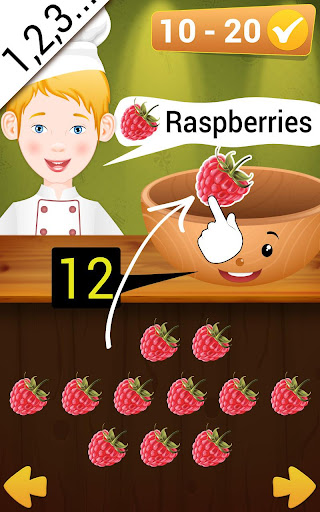 Math game - learning preschool math  screenshots 2