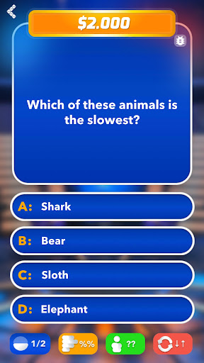 Millionaire 2021 - Trivia & Quiz 1.4.4 screenshots 5
