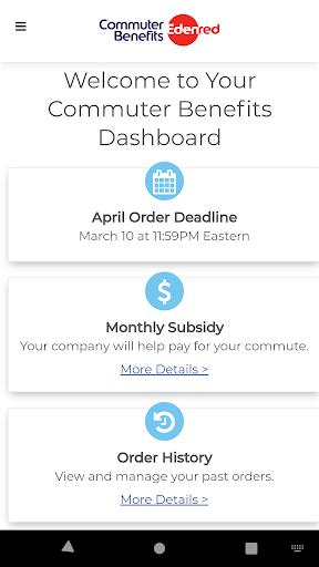 commuter benefits screenshot 3
