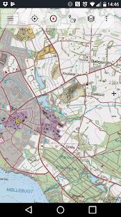 Denmark Topo Maps