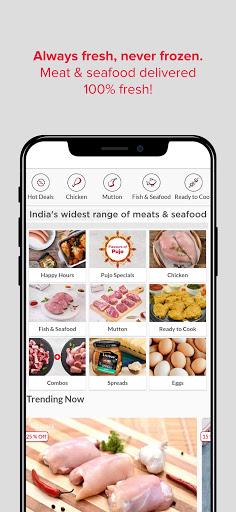 Licious- Fresh Chicken, Fish, Mutton & Eggs Online 3.29.1 screenshots 1