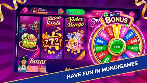 MundiGames - Slots, Bingo, Poker, Blackjack & more 1.8.13 screenshots 1