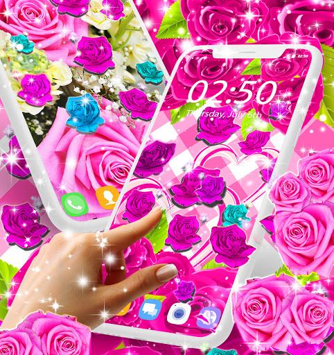 Best rose live wallpaper 2021 apktram screenshots 9