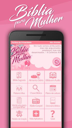 Bu00edblia para Mulher MP3 modavailable screenshots 1