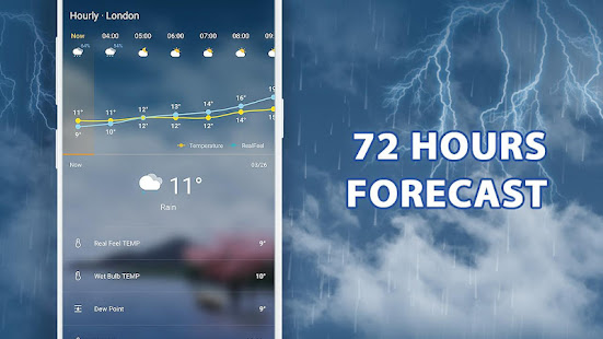 Weather Live - Accurate Weather Forecast 1.2.1 Screenshots 8