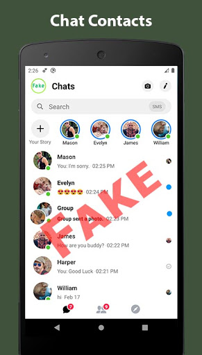 Fake Chat Conversation - prank screenshots 1