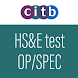 CITB Operatives & Specialists HS&E test 2019