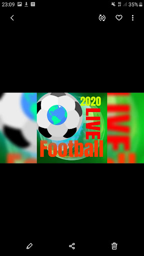 HD Football Live Soccer Streaming TV Lite 1.1 Screenshots 1