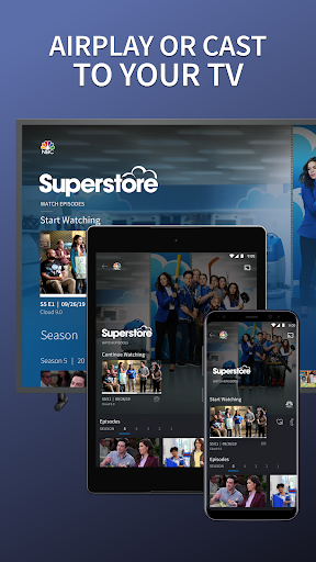 The NBC App - Stream Live TV and Episodes for Free 7.17.1 Screenshots 5