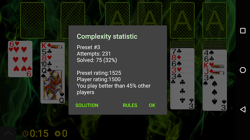 Russian Cell Solitaire screenshots 7