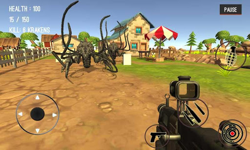 Monster Killing City Shooting 1.0.7 screenshots 16