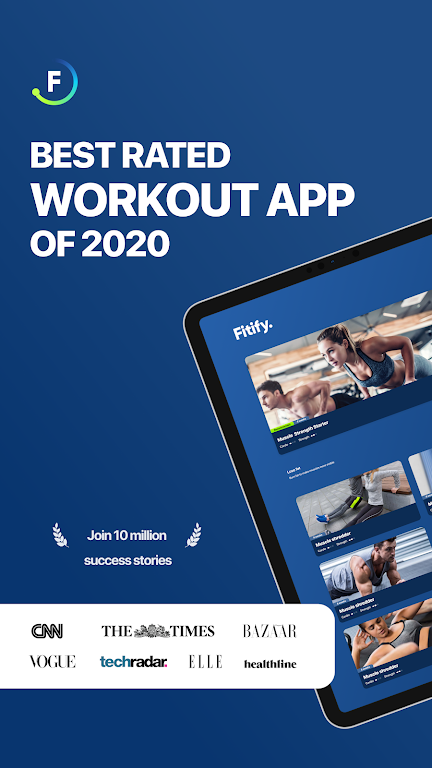Fitify: Workout Routines & Training Plans poster 8