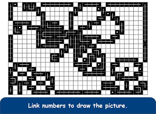FCross Link-A-Pix puzzles 252 screenshots 13