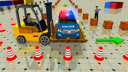 Advance Police Parking - Smart Prado Games modavailable screenshots 4