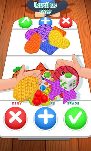 Fidget Trading! pop it Fidget toys 3D Puppet games apktreat screenshots 1