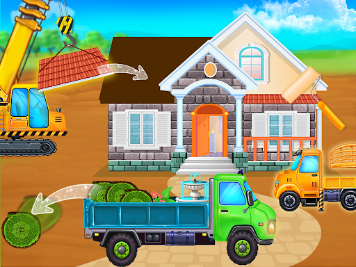 Home Builder - Truck cleaning & washing game  screenshots 3