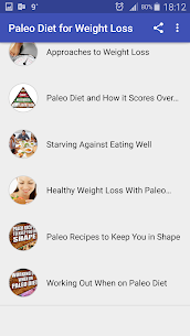 Free Download Paleo Diet for Weight App For PC (Windows and Mac) 2