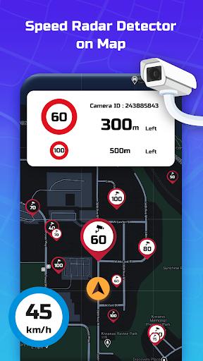 Speed Camera Radar - Police Detector & Speed Alert apktram screenshots 1