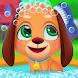 女の子のための子犬のケアゲーム - Androidアプリ