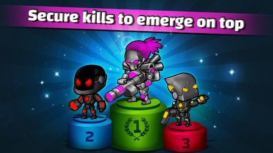 Neon Blasters Multiplayer Shooting Online Hack Game Android & iOS 2