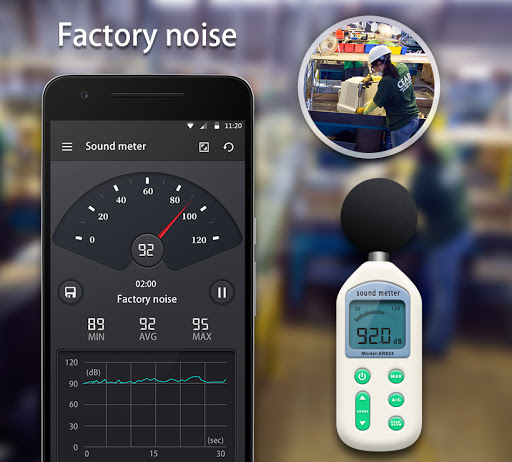 Sound Meter - Decibel Meter android2mod screenshots 6