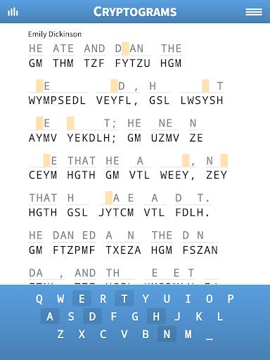 Cryptogram Puzzles 1.71 screenshots 11