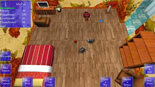 Cute Pocket Cat 3D 1.2.2.3 screenshots 1