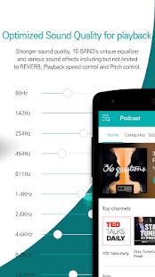 GOM Audio - Music, Sync lyrics, Podcast, Streaming screenshots 4