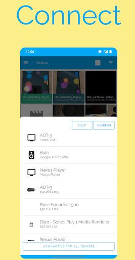 LocalCast for Chromecast/Android TV/Roku/Fire TV modavailable screenshots 5