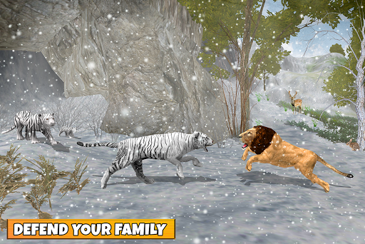 Snow Tiger Family apkmr screenshots 17