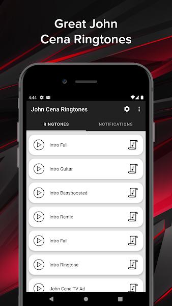 John Cena Ringtones - Intro Soundtracks & Quotes