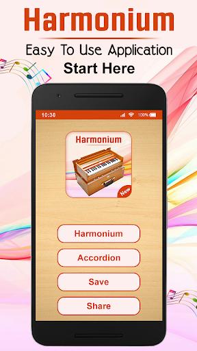 play harmonium : music tool screenshot 1