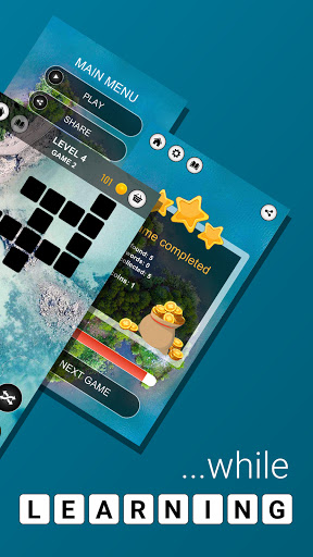 Wordalicious - Relaxing word puzzle game 1.5.0 screenshots 6