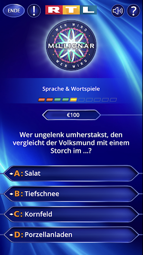 Wer wird Millionu00e4r? Trainingslager 2.0.76 screenshots 5