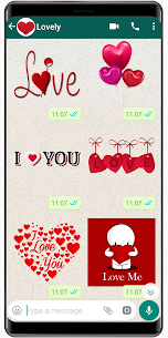 New Love Stickers 2020 ❤️ WAStickerApps Love 1.6 Android Mod + APK + Data 2
