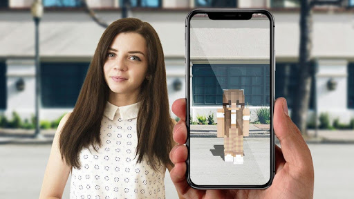 AR Minecraft skins Visualiser in Augmented Reality 11 screenshots 2