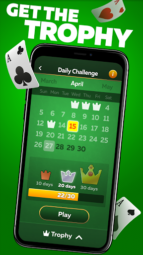 Solitaire Play u2013 Classic Klondike Patience Game 2.1.4 screenshots 2