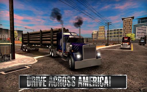 Truck Simulator USA  APK MOD (Astuce) screenshots 2