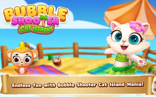 Bubble Shooter: Cat Island Mania 2020 apktram screenshots 21