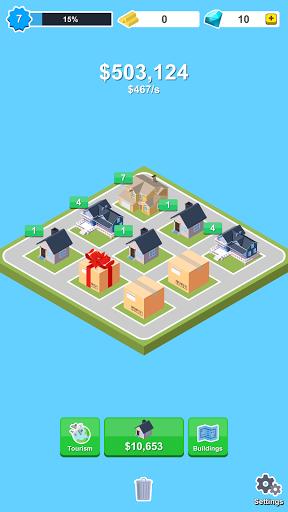 Merge City - Idle Clicker Game screenshots 2