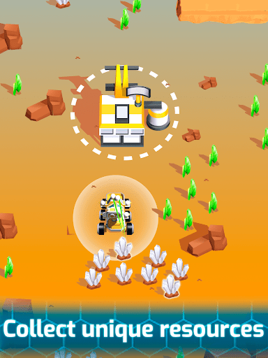 Space Rover: Idle planet mining tycoon simulator  screenshots 15