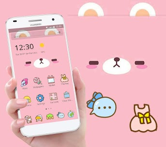 Pink Cute Cartoon Bear For Pc – [windows 10/8/7 And Mac] – Free Download In 2020 2