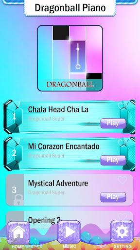 Magic Dragon Ball Super Piano Tiles  Screenshots 2