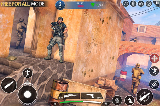Immortal Squad 3D Free Game: New Offline Gun Games 20.4.5.0 Screenshots 6