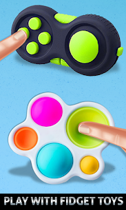 Fidget Cube Antistress Buttons 3D Toys Satisfying 4