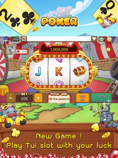 Dummy & Toon Poker Texas slot Online Card Game  Screenshots 11
