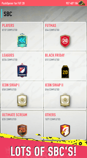 Pack Opener for FUT 20 by SMOQ GAMES 4.49 Screenshots 23