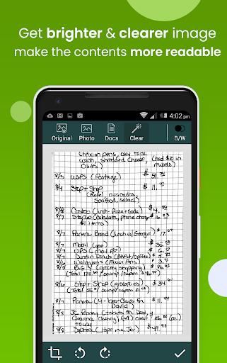 Clear Scan: Free Document Scanner App,PDF Scanning 5.3.0 Screenshots 3